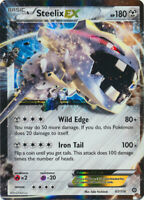 1x - Steelix-EX - 67/114 - Holo Rare ex NM Pokemon XY Steam Siege