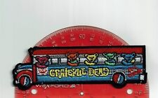 """6"""" Grateful Dead uncle Dancing bear Bus  patch Iron on patches shakedown USA"""