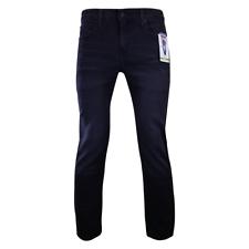 Levi Strauss мужские черные премиум супер мягкий изгиб регулярные конус джинсы (S47)