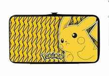 Pokemon Pikachu Electric Lightning Bolts Yellow Lady Buckle Down Hinge Wallet