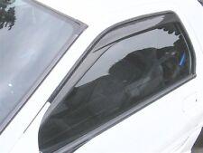 NEW 86-92 MAZDA RX7 RX-7 CARBON FIBER RAIN GUARD SHIEID SIDE DOOR WINDOW VISORS