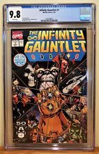INFINITY GAUNTLET #1 CGC 9.8 - WHITE PAGES **HIGHEST GRADED COPIES**