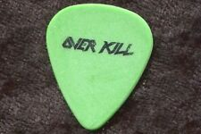 Overkill 1996 F You And Then Some Tour Guitar Pick! custom concert stage Pick
