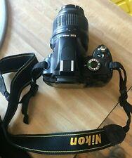 Nikon D D60 10.2MP Digital SLR Camera - Black (Kit w/ Nikkor 18-55mm Lens)