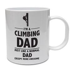Sono un DAD Arrampicata più impressionante-Padre's Giorno / SPORT / divertente tema TAZZA IN CERAMICA