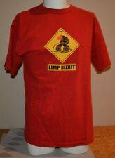 Limp Bizkit T-Shirt, Red, Size L, 1990's, Giant Brand, Fred Durst, Alternative