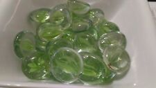 Piedras Cristal color verde para jarrones fuentes 200 gr