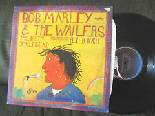 BOB MARLEY & WAILERS birth of a legend LP calla 1977 OG peter tosh reggae rare!!