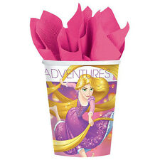 TANGLED Dream Big 9oz PAPER CUPS (8) ~ Birthday Party Supplies Beverage Drinking