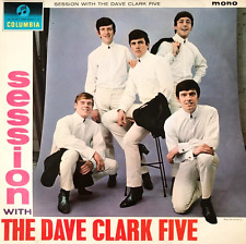 THE DAVE CLARK FIVE - Session With The Dave Clark Five (LP) (G-VG/VG-)