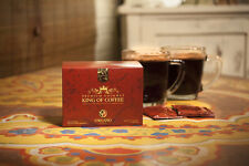 ORGANO GOLD KING OF COFFEE, 2 BOXES OF ORGANIC COFFEE! USA SELLER** 25 PACKS EAC
