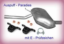 Endschalldämpfer Endtopf Auspuff hinten BMW 3er E46 316 77KW 318 87KW M43 98-05