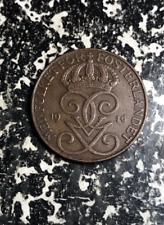 1916 Sweden 5 Ore Lot#L8717 Low Mintage!