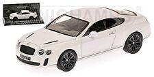 Bentley Continental Supersports 2009-13 BLANCO MODELO 1:43 MINICHAMPS