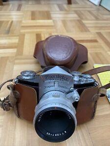 Kleinbildspiegelreflexkamera Ihagee Exakta Varex IIa, Carl Zeiss Tessar 2.8/50,