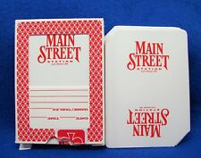 Vintage Main Street Station Hotel Casino Vegas deck of playing cards unsealed