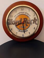 Hard Rock Cafe Clock Acropolis Mykonos in working condition