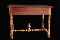 Table en Gaïac, XIXème, bois précieux / Gaïac table-desk, precious wood, 19th