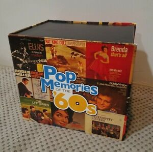 TIME LIFE Pop Memories of the 60s Complete 18 CD Superset Box Set Over 275 Hits