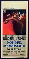 L106 Plakat Uns Zwei Unbekannt Walter Matthau Kirk Douglas Kim Novak Rush