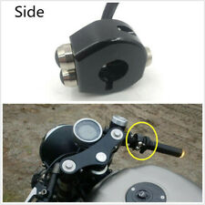 Motorcycle Custom Handle Grips Reset 3Buttons Self Latch & Momentary Buttons CNC