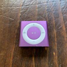Apple iPod Shuffle 4th Generation 2GB Pink MP3 Player