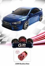 MST MS-01D RTR 4WD Electric RC Drift Car-EVO X(Blue)+10.5T BrushlessMotor