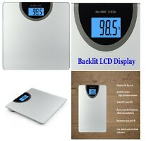 NEW Digital 400 lb Body Weight Scale Electronic LCD Dial Bathroom Health Fitness