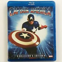 Captain America - 1990 Film (Blu-ray, Collectors Edition, Shout Factory)