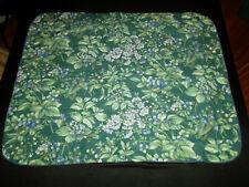 Laura Ashley Standard Pillow Sham Pair Bramble Berry Green Floral Cottage