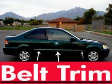 Honda CIVIC Coupe CHROME SIDE BELT TRIM DOOR MOLDING 1996 - 2000