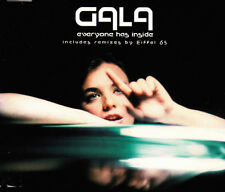 GALA - EVERYONE HAS INSIDE - REMIXES BY EIFFEL 65 CD SINGLE 4 TRACKS 2000