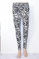 Ladies Women's  Girls Leopard leggings Printed Animal trousers Legging 8 -26
