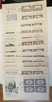 SCOTT #909-921 1943 OCCUPIED NATIONS BLOCKS ON  FIRST DAY COVERS