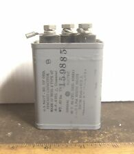 Vintage General Electric - 90 V 60 Cycle - Synchro Capacitor - P/N: 426611 (Nos)