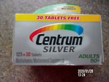 CENTRUM SILVER Multivitamin 155 tablets FOR ADULTS OVER 50+, OUT DATED
