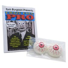 Tom Burgoon's Crazy Eyes Pro Magic Trick, Assorted Colors