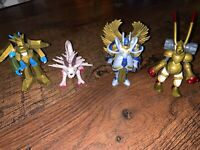 Bandai Digimon The Miracle Four Digi-Set Action Figures