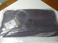 Sferra BELLO AUBERGINE Purple Washcloth(s) SET / 3 Combed Cotton  BELGIUM - NEW!