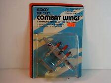 Kidco Combat Wings Silver P-38 Lightning WW II Airplane MIP