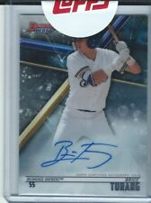 2018 Bowman's Best Brice Turang BASE ROOKIE AUTO signed Brewers