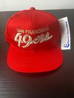 Vintage Sports specialties NFL San Francisco 49ers YOUTH script snapback hat NWT