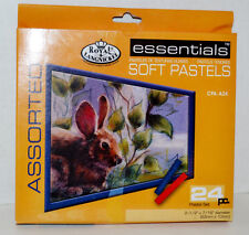 Royal & Langnickel Essentials Assorted Soft Pastels Set of 24 Cpa-A24