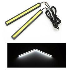 14cm COB LED DRL Strips 12v Daytime Running Lights 6000k Xenon White SKODA