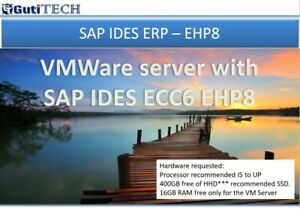 SAP IDES ERP EHP8 in your PC or Laptop - virtual vmware server
