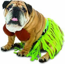 New ListingHula Dog Fun Halloween Dress Up Costume With Grass Skirt and Coconut Top Nwt