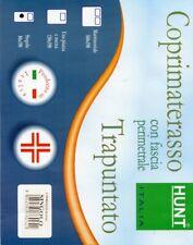 COPRIMATERASSO SANITARIO TRAPUNTATO SINGOLO MATRIMONIALE 1 PIAZZA½ HUNT A100