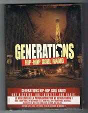 GÉNÉRATIONS HIP-HOP SOUL RADIO - COFFRET 4 CD - NEUF NEW NEU