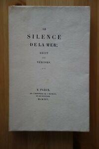 VERCORS, Le Silence de la mer, Haumont, 1945
