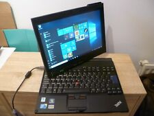 Lenovo Thinkpad X201 Tablet Laptop, Intel i7 CPU, 4GB RAM, 256GB HDD, Win 10 Pro